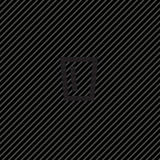 glass, shot icon