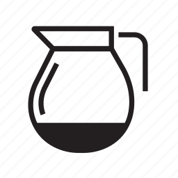 cafe, coffee, coffee jar, jar, pot, tea icon