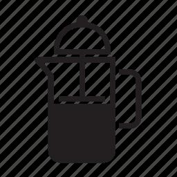 cafe, coffee, coffee jar, jar, pot icon