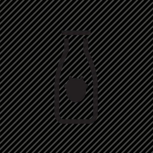 bottle, cow, drink, milk, ox icon