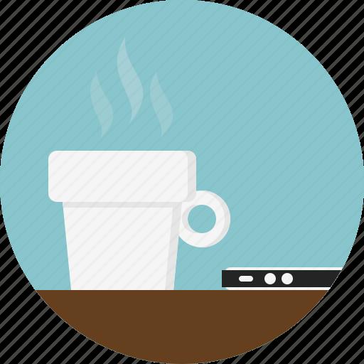 cap, coffee, hot icon