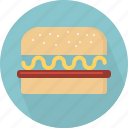 fastfood, food, hamburger icon