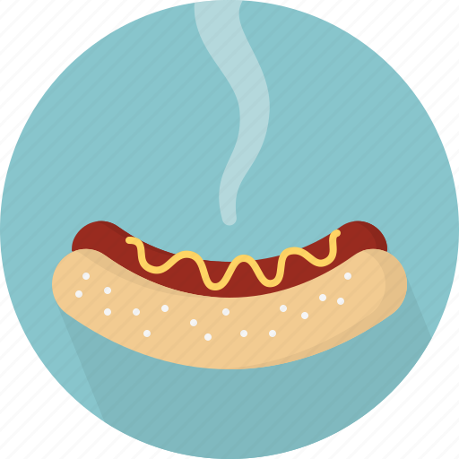 dog, food, hot, hot-dog icon