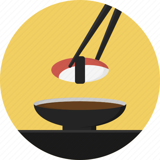 chopstick, food, sushi icon
