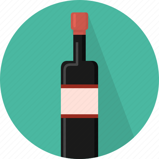 bottle, drink, wine icon
