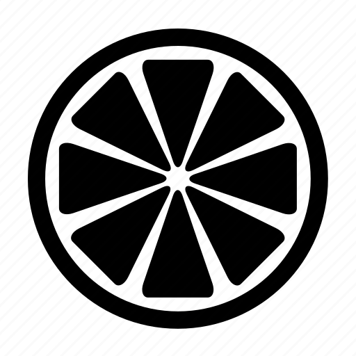 citrus, food, fruit, half, lemon, lime, orange icon