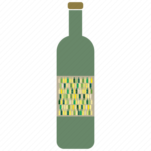 beverage, bottle, drink, wine icon