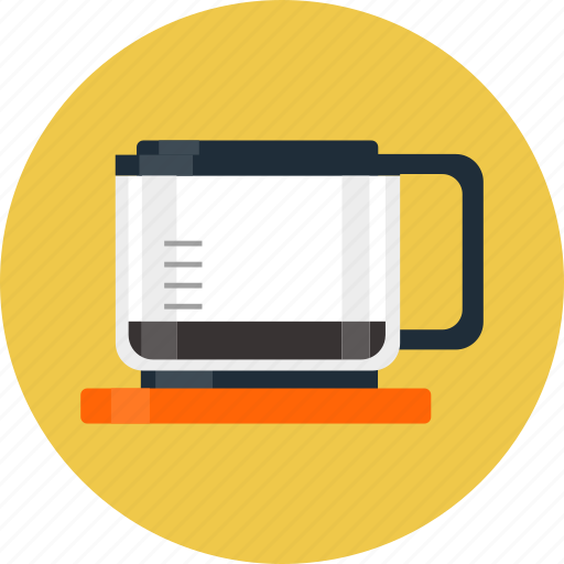 cafetiere, coffee, coffee maker, coffee pot icon