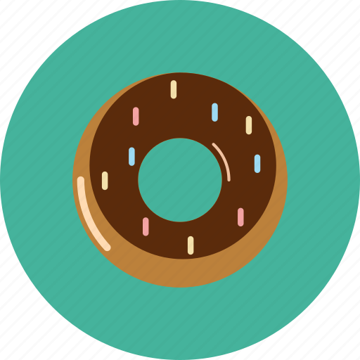 donut, doughnut, sweet icon