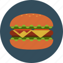 big mac, bread, fast food, hamburger icon
