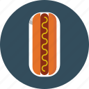 bread, hotdog, sausage icon