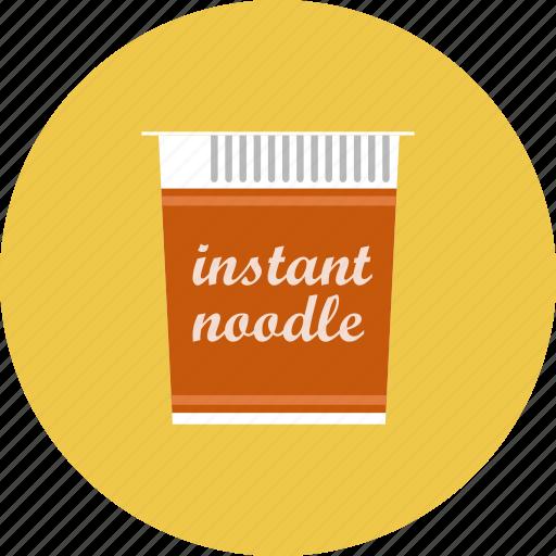 instant noodles, noodles icon