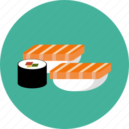 japan, sushi icon