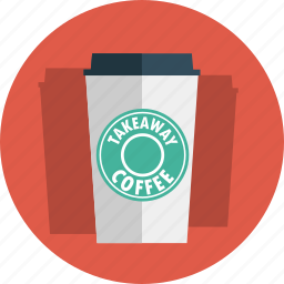 coffee, cup, starbucks, takeaway, takeaway coffee icon