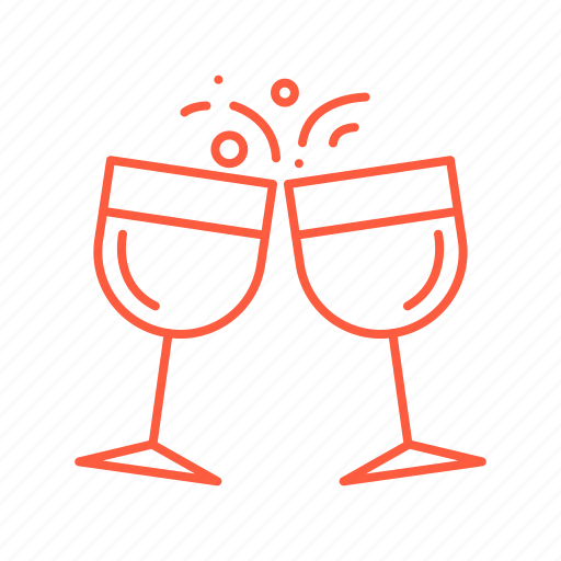 cafe, champagne, cocktail, drink, restaurant icon