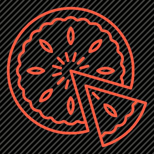 cafe, food, gateau, pasty, pie, restaurant, tart icon