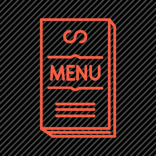 cafe, drink, food, menu, restaurant icon