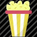 kettle corn, popcorn, popcorn box, popcorn tin, popping corn