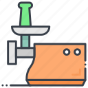 food mincer, meat chopper, meat grinder, meat mixer, mincing machine