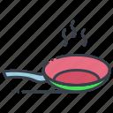 casserole, cooking pan, cookware, kitchen pot, saucepan icon
