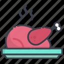 chicken, grilled food, roast, roast chicken, turkey roast