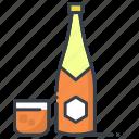 alcohol, beer, bottles, champagne bottles, wine bottles
