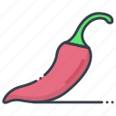 chili, chili pepper, food, hot chili, spice