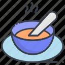 hot food, hot soup, meal, soup, soup bowl