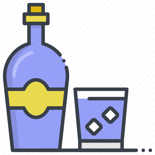 Alcohol, beer bottle, wine, wine bottle, wine glass icon - Download on Iconfinder