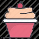 bakery food, cupcake, dessert, fairy cake, muffin