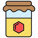 conserve, honey, jar