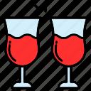 cheers, drinks, wine