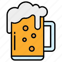 beer, beverage, pint