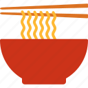 bowl, chopsticks, noodle, noodles, ramen icon