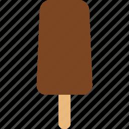 bar, chocolate, cream, dessert, frozen, ice, popsicle icon