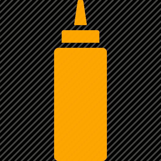 bottle, condiment, container, flavor, flavoring, mustard, sauce icon