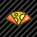 crepe, crepes, dessert icon
