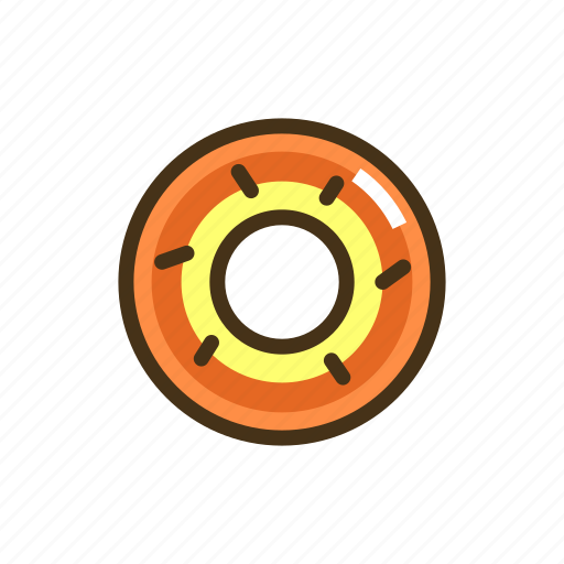 donut, pastry icon