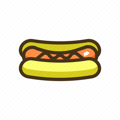 corn dog, hot dog, hotdog, sausage icon