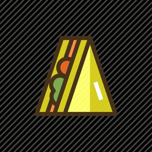 bread, sandwich icon