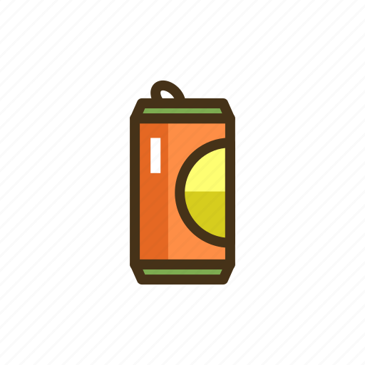 canned drink, drink, soft, soft drink icon