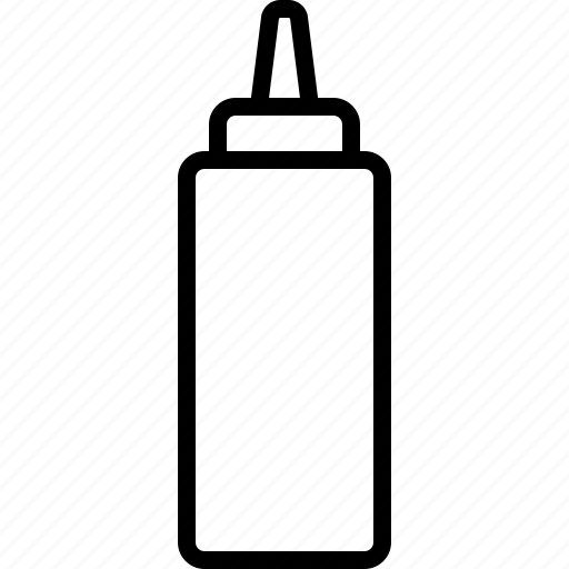 bottle, condiment, container, dijon, flavor, ketchup, mustard icon