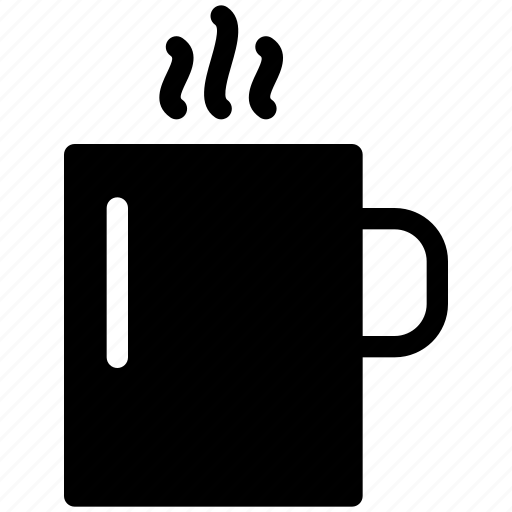beverage, chocolate, coffee, creative, cup, drink, glass, grid, hot, mug, restaurant, shape, tea icon