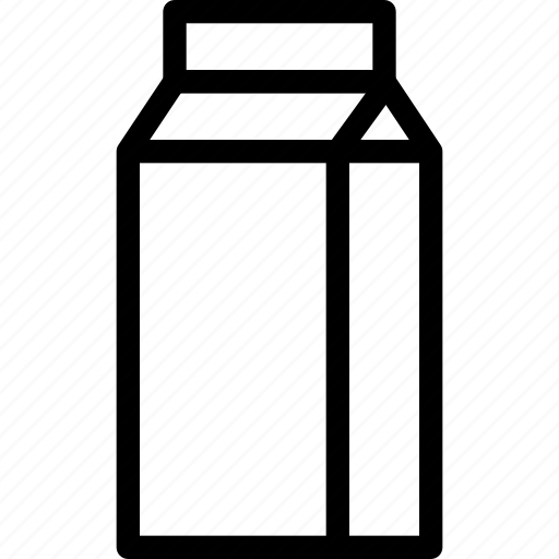beverage, bottle, container, creative, drink, glass, grid, milk, shape, store, water icon
