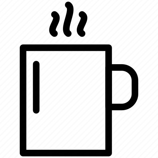 beverage, chocolate, coffee, creative, cup, drink, glass, grid, hot, mug, restaurant, shape, tea icon