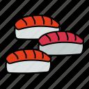 sushi, seafood, fish, restaurant, food, japan, asian
