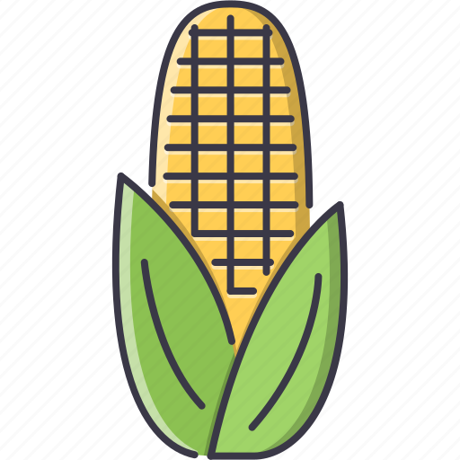 cooking, corn, food, shop, supermarket, vegetable icon