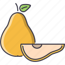 cooking, food, fruit, pear, shop, supermarket icon