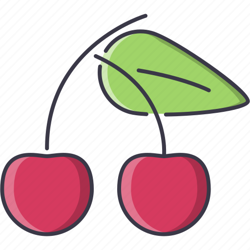 cherry, cooking, food, fruit, shop, supermarket icon