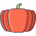 cooking, food, pumpkin, shop, supermarket, vegetable icon